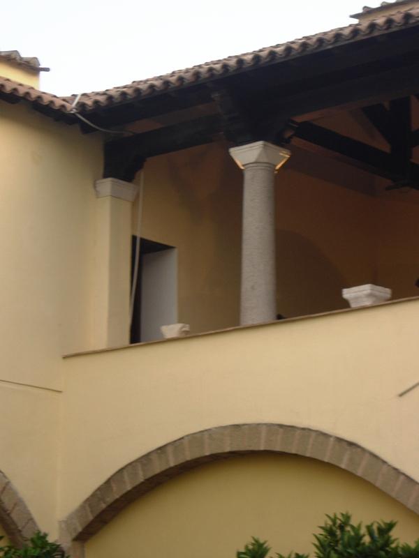 Chiostro di Santa Sofia - foto di Stefania Leone